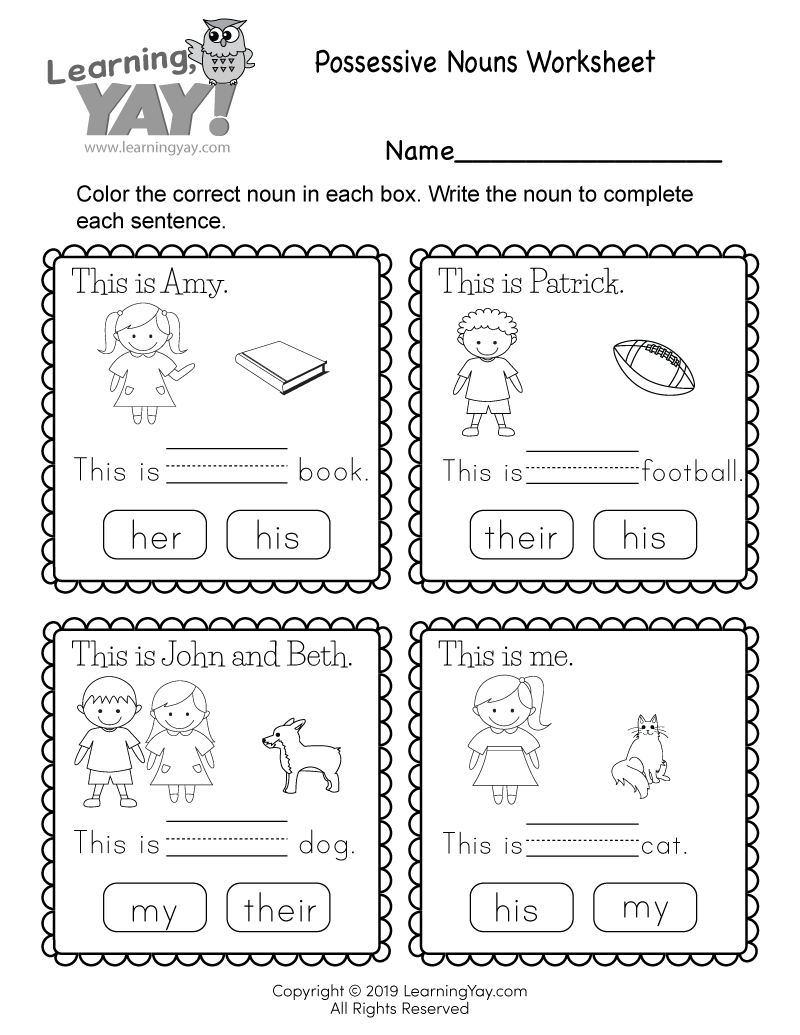 - 1st Grade Worksheets - Free PDFs And Printer-Friendly Pages