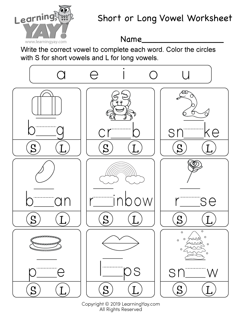 1st Grade English Worksheets (Free Printables)