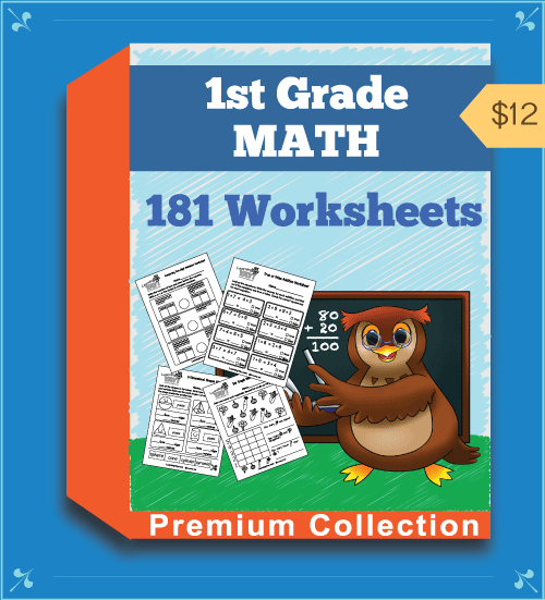 Premium First Grade Math Worksheets Collection
